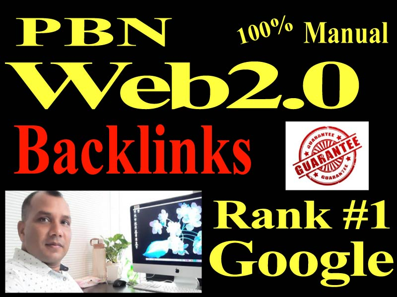 Offer 20 Manual Web 2.0 Backlinks Dofollow high quality permanent link building