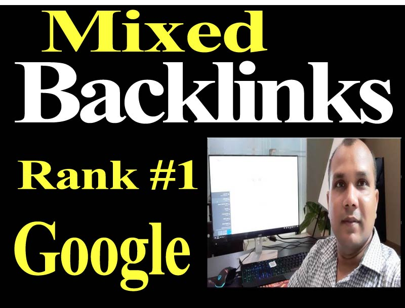 Manual 20 Mixed Backlinks High Authority Permanent DoFollow link building boost your website