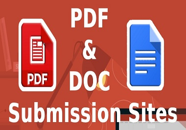 35 Best PDF submission permanent backliks to rank in google by quality link building