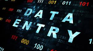 I work in data entry for any kind of data