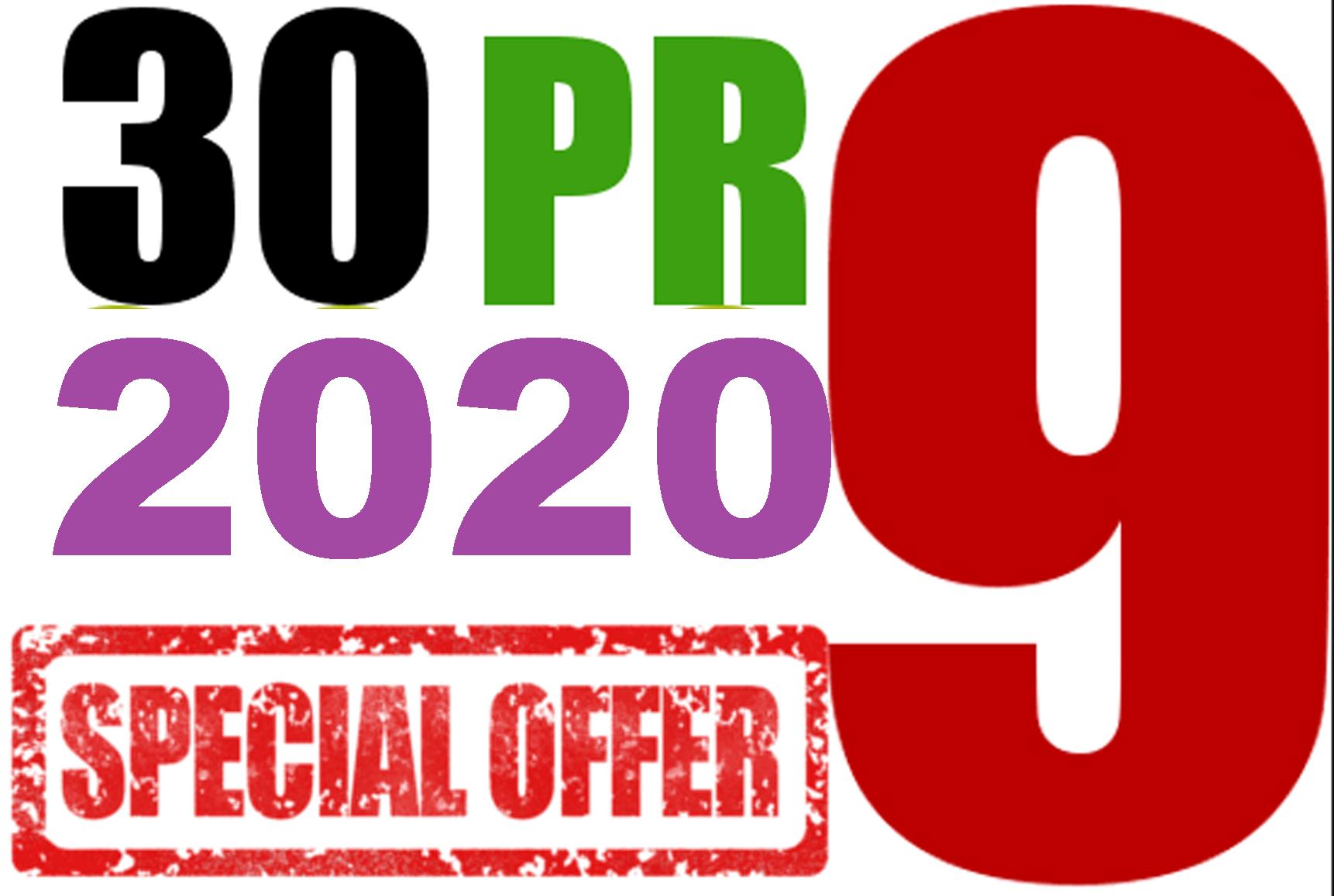 I will Do 30 PR9 Top 80+DA Trusted Authority SEO Backlinks For your Website
