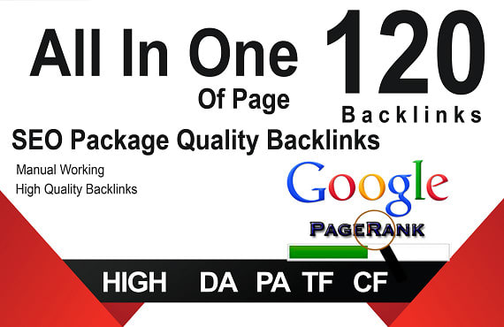 I Will MANUALLY Do 120 UNIQUE PR10 All IN One Safe SEO BackIinks on DA100 sites