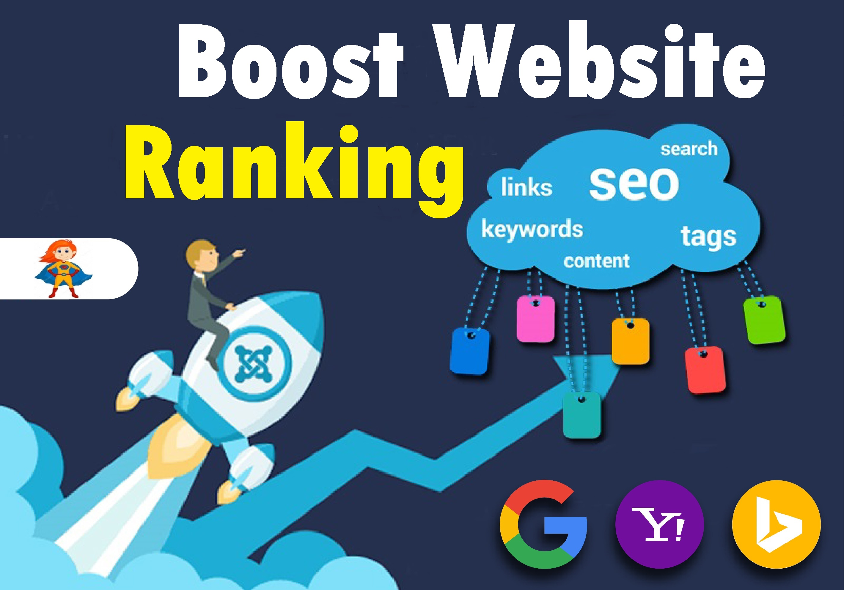 Boost Your Google Ranking by 400+ Massive SEO Backlinks With Manual High Authority and Trusted Links