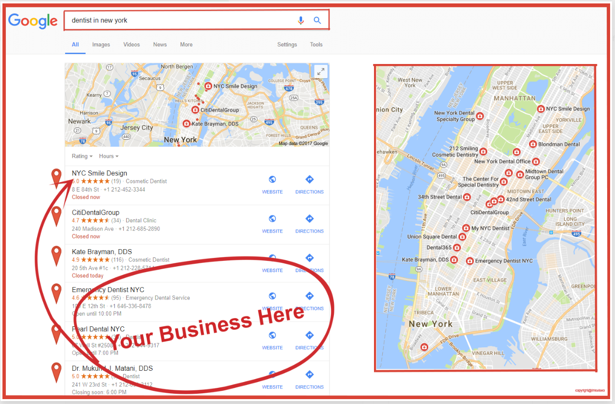 I will Do and create 350 local google map citations for local Business SEO