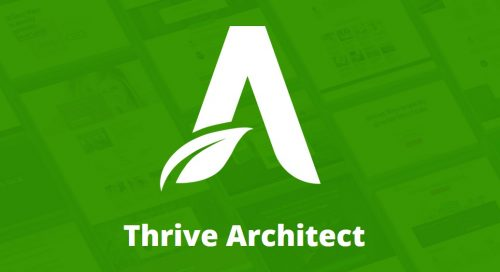 I will install Thrive Architect - WordPress Page Builder