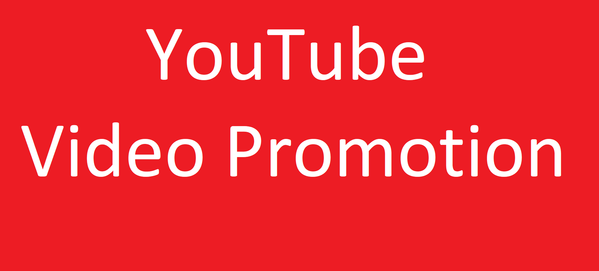 Do Fast Organic Youtube Promotion