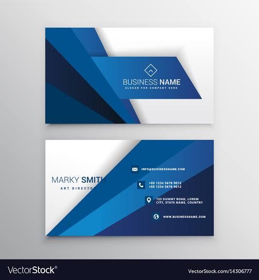 creating beautiful business card design