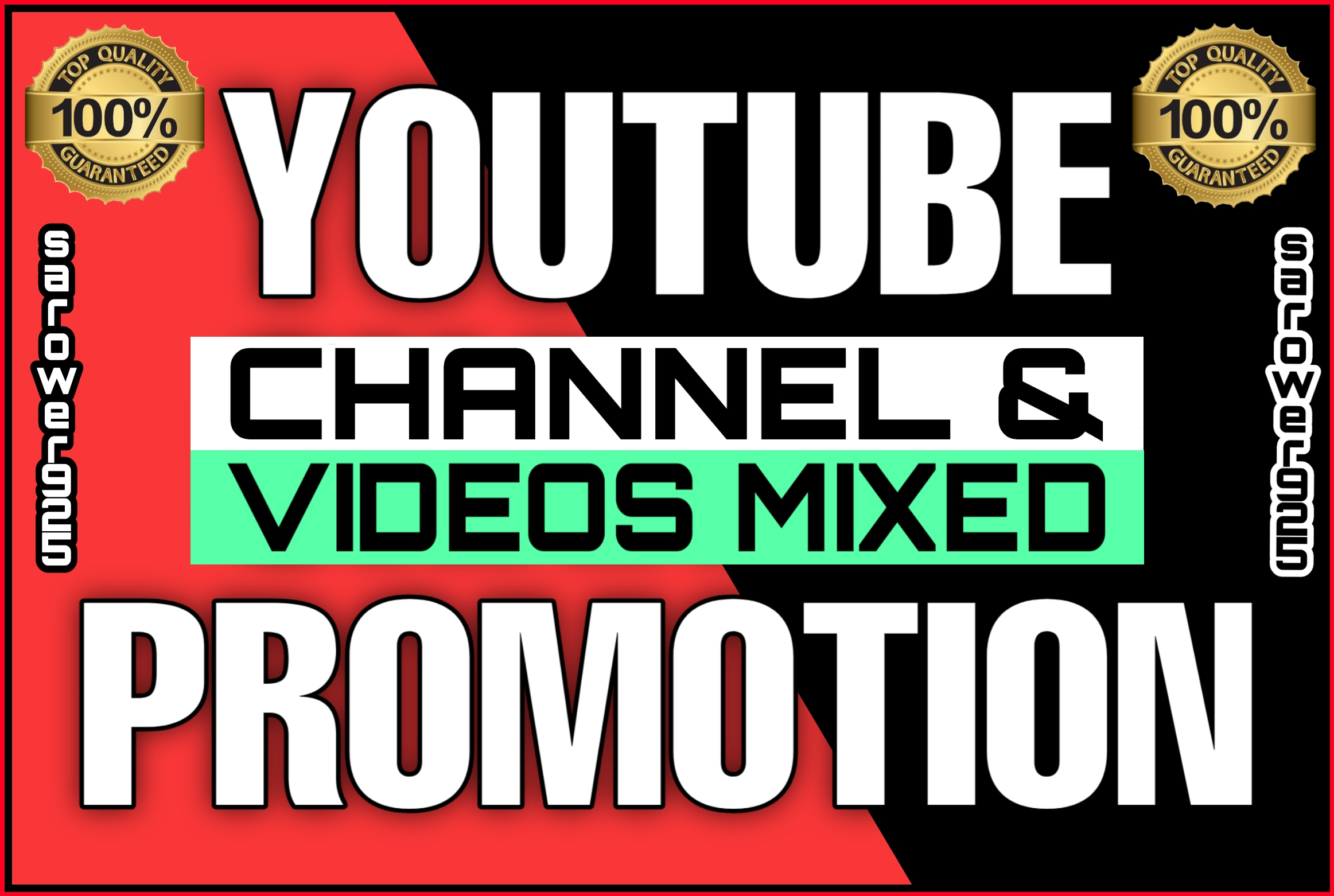 Manually All promotions of Youtube Videos in One service