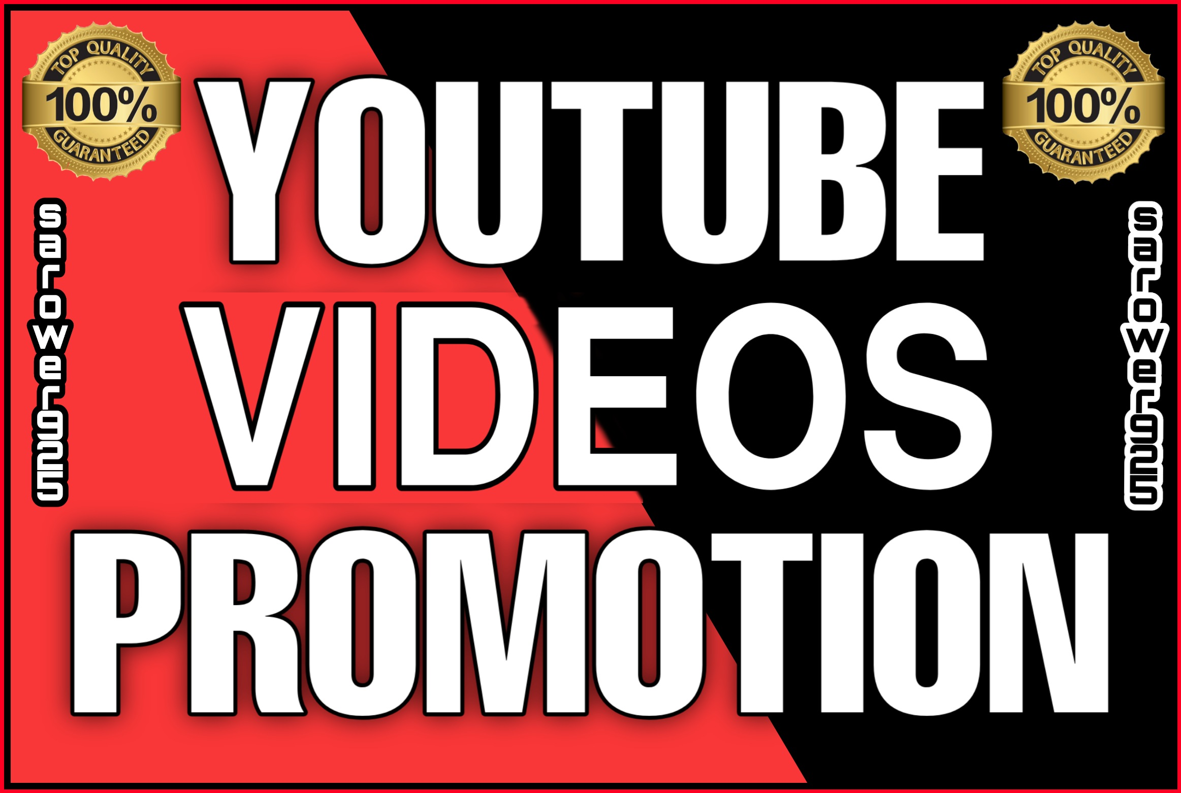 High quality permanent youtube videos marketing and promotion