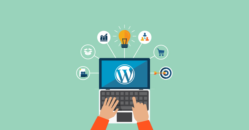 Your own website in wordpress with your own template choice