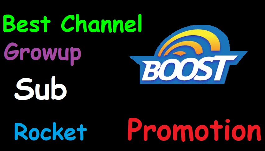 Get The Best Channel Promotion Safe Grow Up Boosting Promote