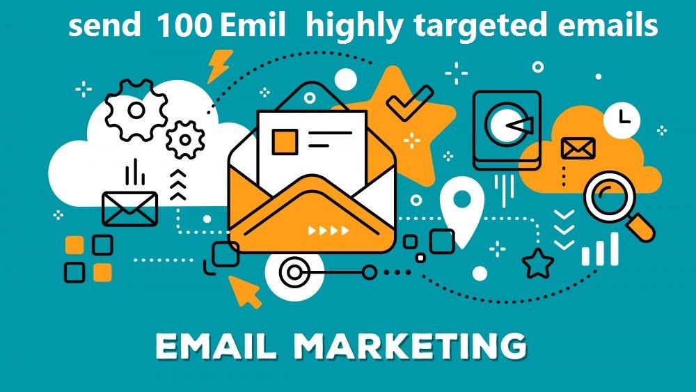I will send 100 highly email full target