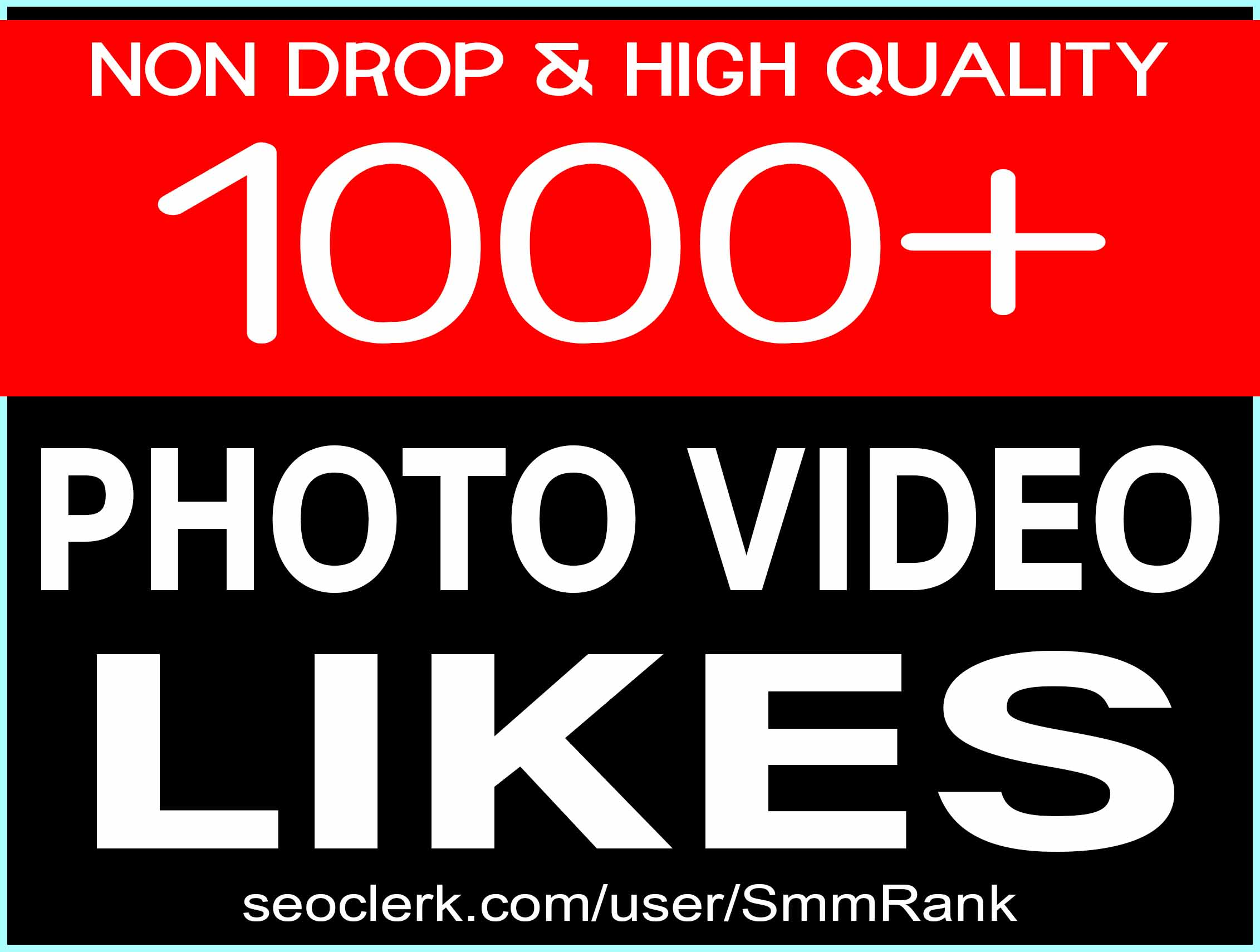 ADD 1000+ SOCIAL PICTURE OR VIDEO PROMOTION NON DROP AND SUPER FAST