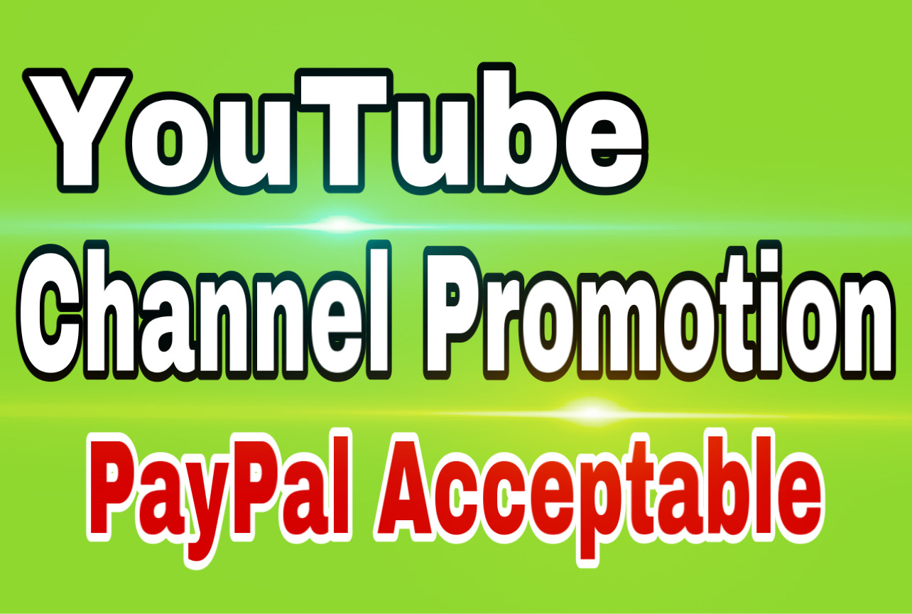 YouTube organic promotion & marketing via active audience