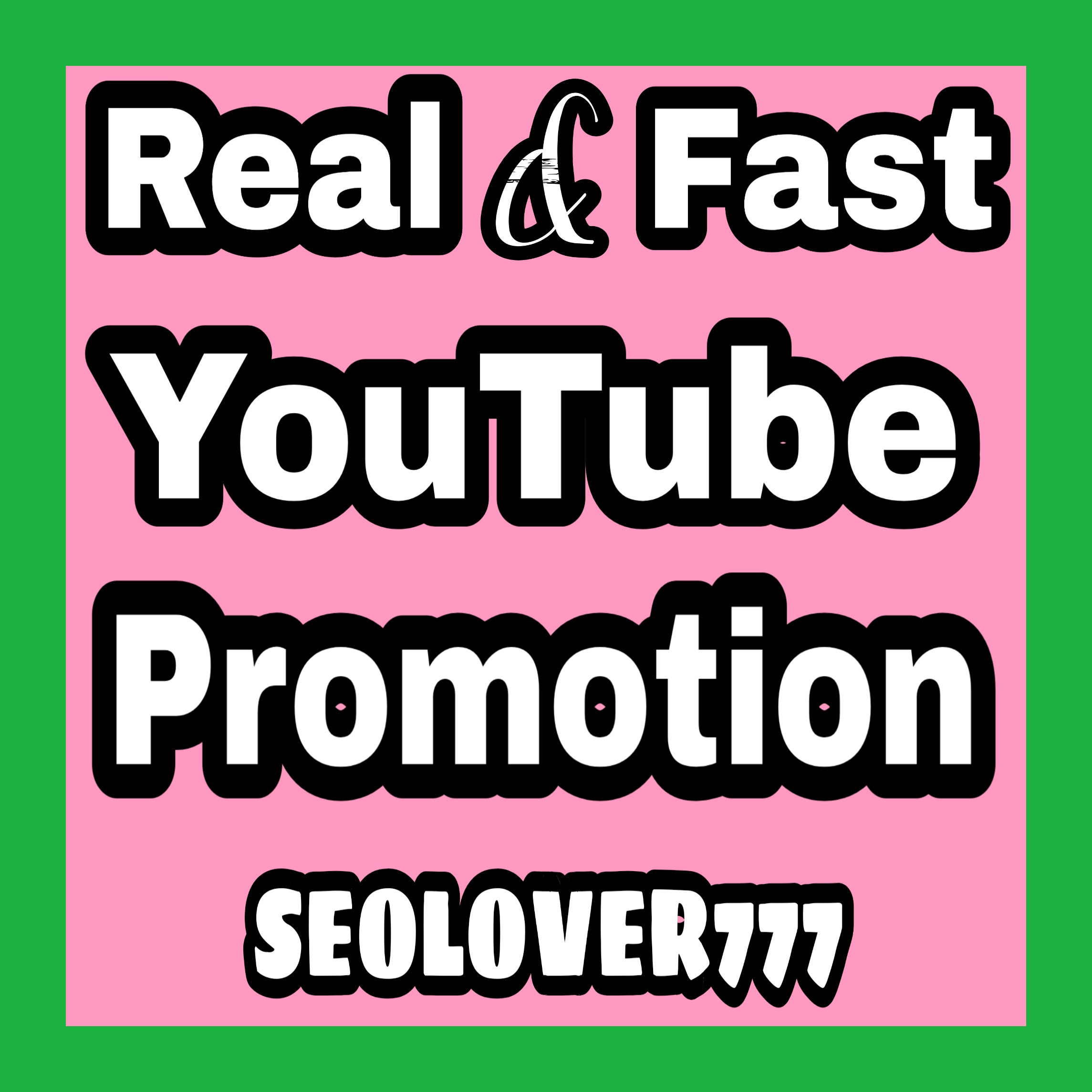 Best YouTube Real Promotion Fast