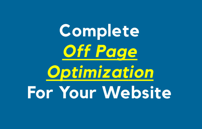 Off Page SEO For Your Website Boost your leads,  traffic and ranking
