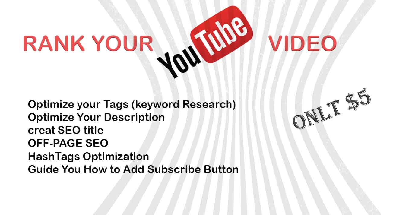 RANK YOUTUBE VIDEO on Top 10 with seo