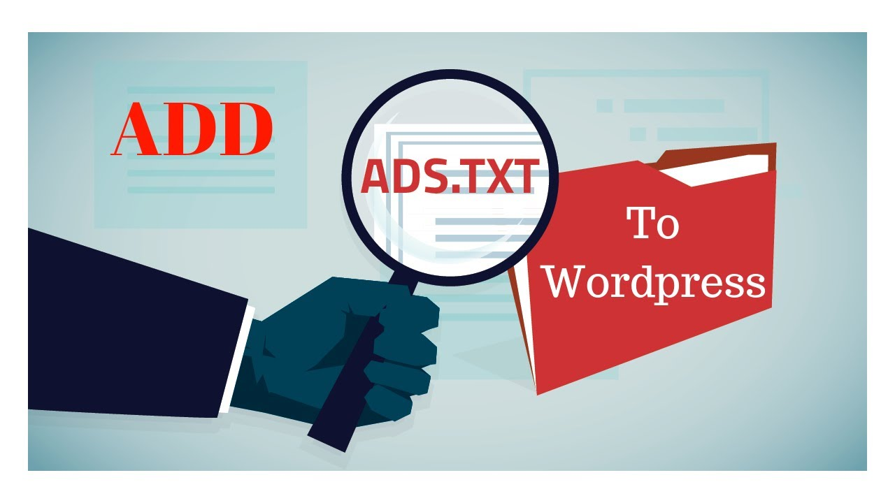 Add Adsence Ads. Txt File In WordPress Website Within 5 Minutes