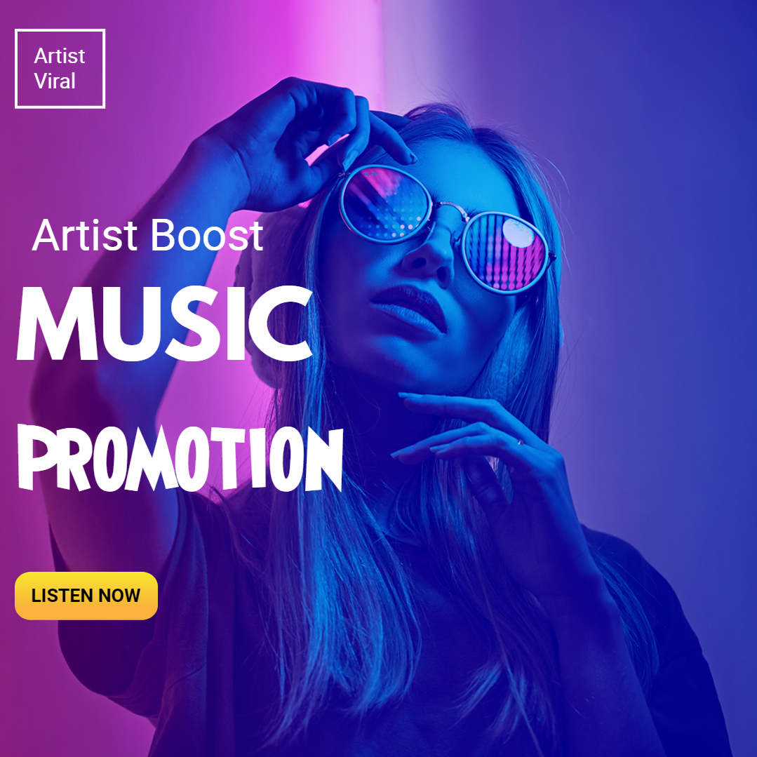 Get Rank your Music Brand song Track Playlist Full Profile Promotion