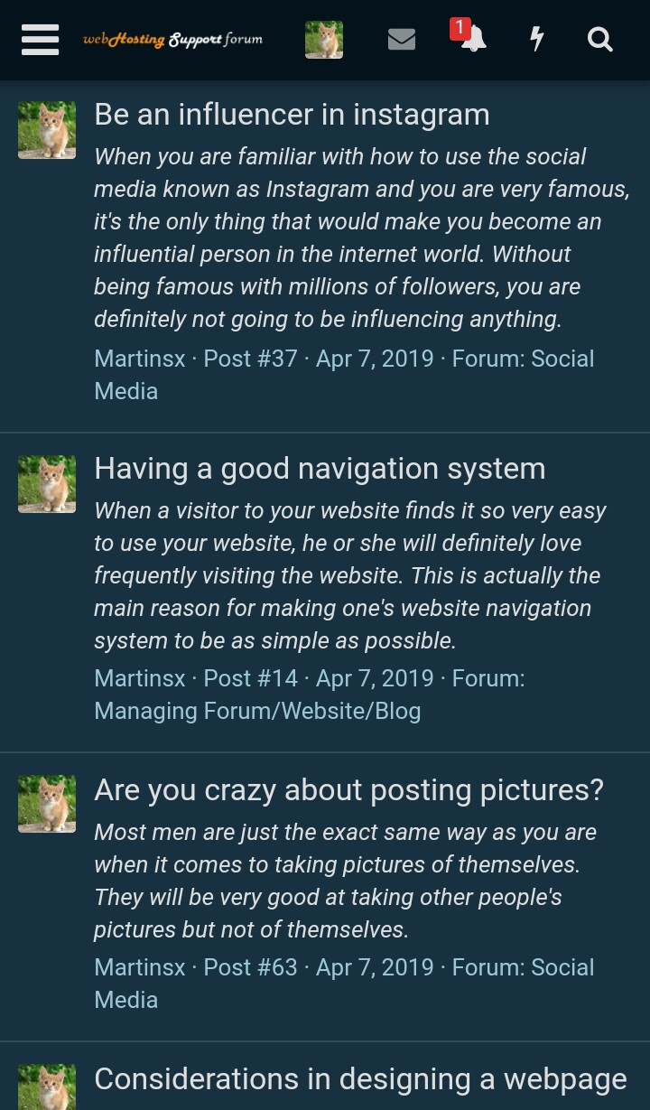 Offering the services to create high quality forum posts