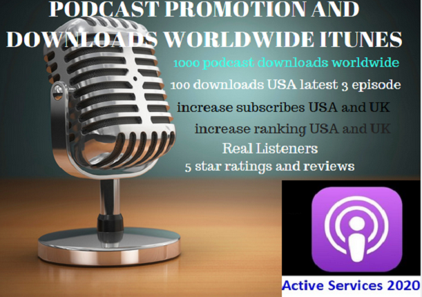 promote and advertise your podcast best downloads and organic audience to get listeners