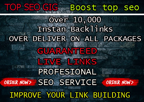 provide over 15,000 high quality live SEO backlinks