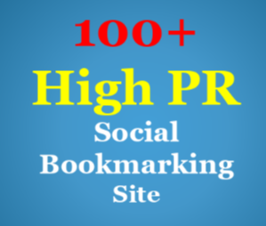 Provide you Manually 100+Top High Authority Social Bookmarking