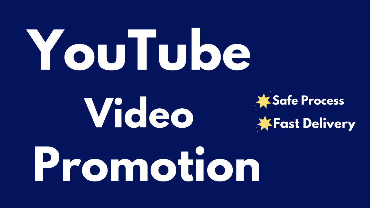 Instant YouTube Video Promotion & Fast Delivery