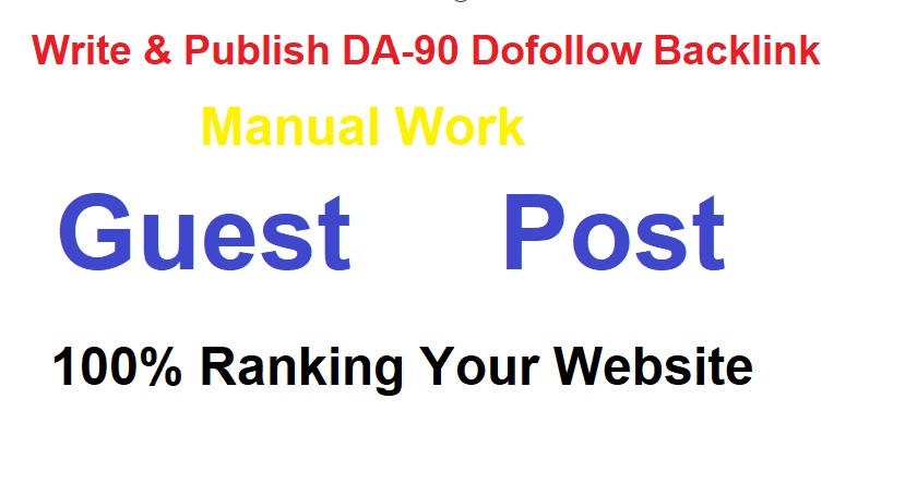 I will write and publish guest post high DA-93