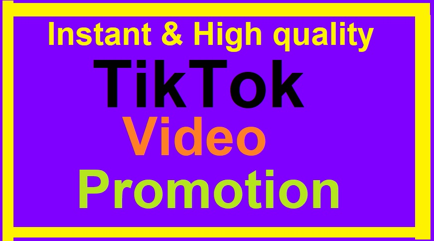 TikTok Video Or Account Promotion Social Marketing Fast Delivery and Real Audience for your video