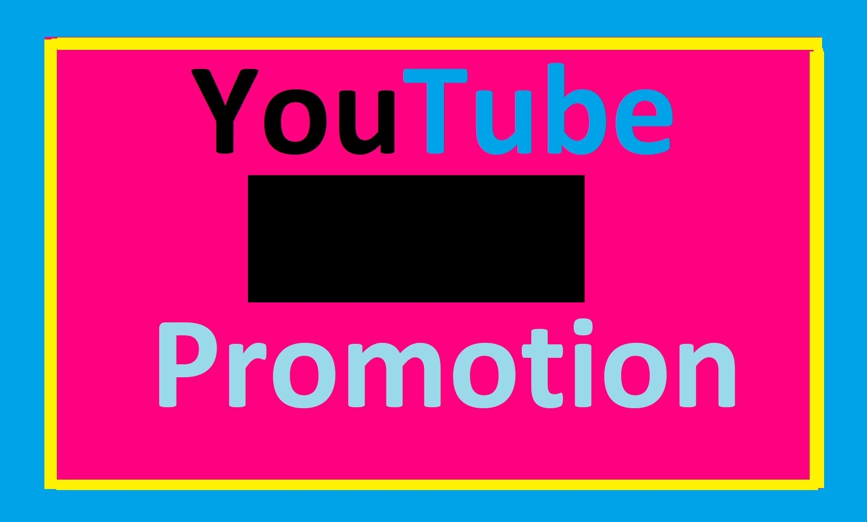 I will do organic youtube video promotion and video marketing
