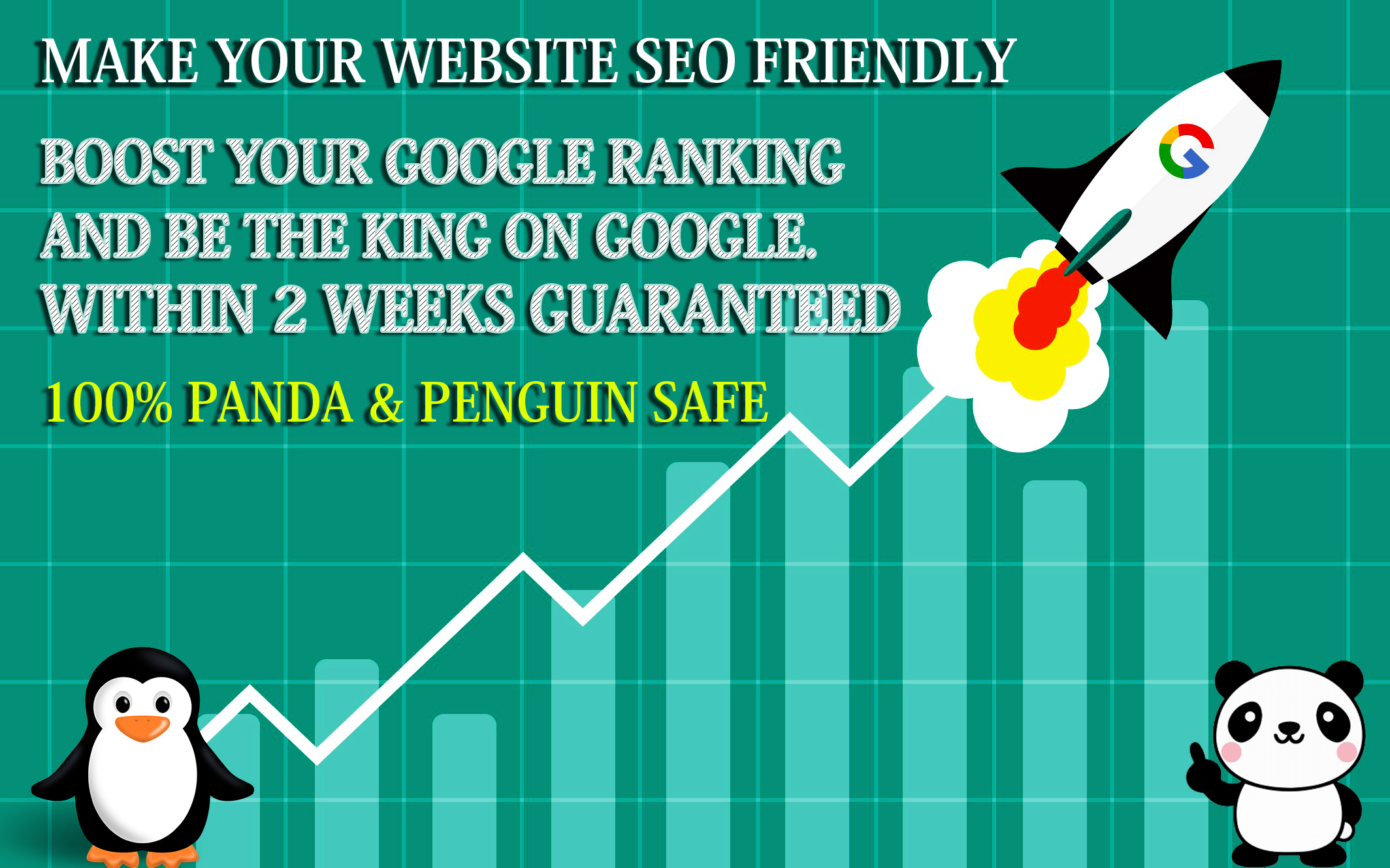 MAKE YOUR WEBSITE NO-1 ON GOOGLE 1st PAGE WITHIN 2WEEKS GUARANTEED