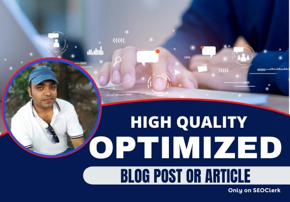 I will write a high quality SEO article for you