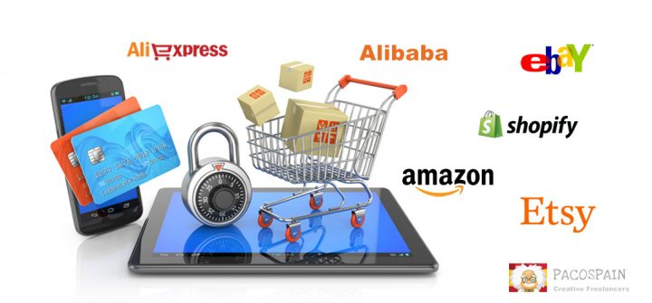 Promote any online store like Amazon, Etsy, eBay,  Shopify etc
