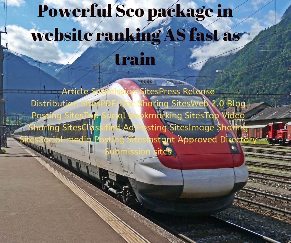 Powerful Seo package in ranking your website