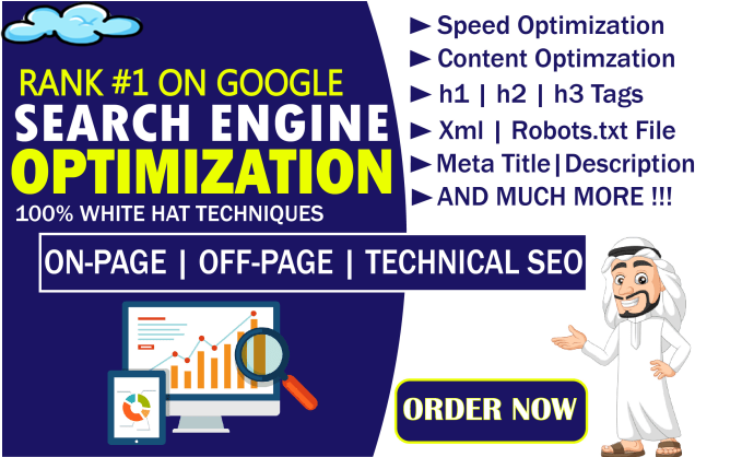 I will fixed your On-Page SEO and Technical SEO Errors