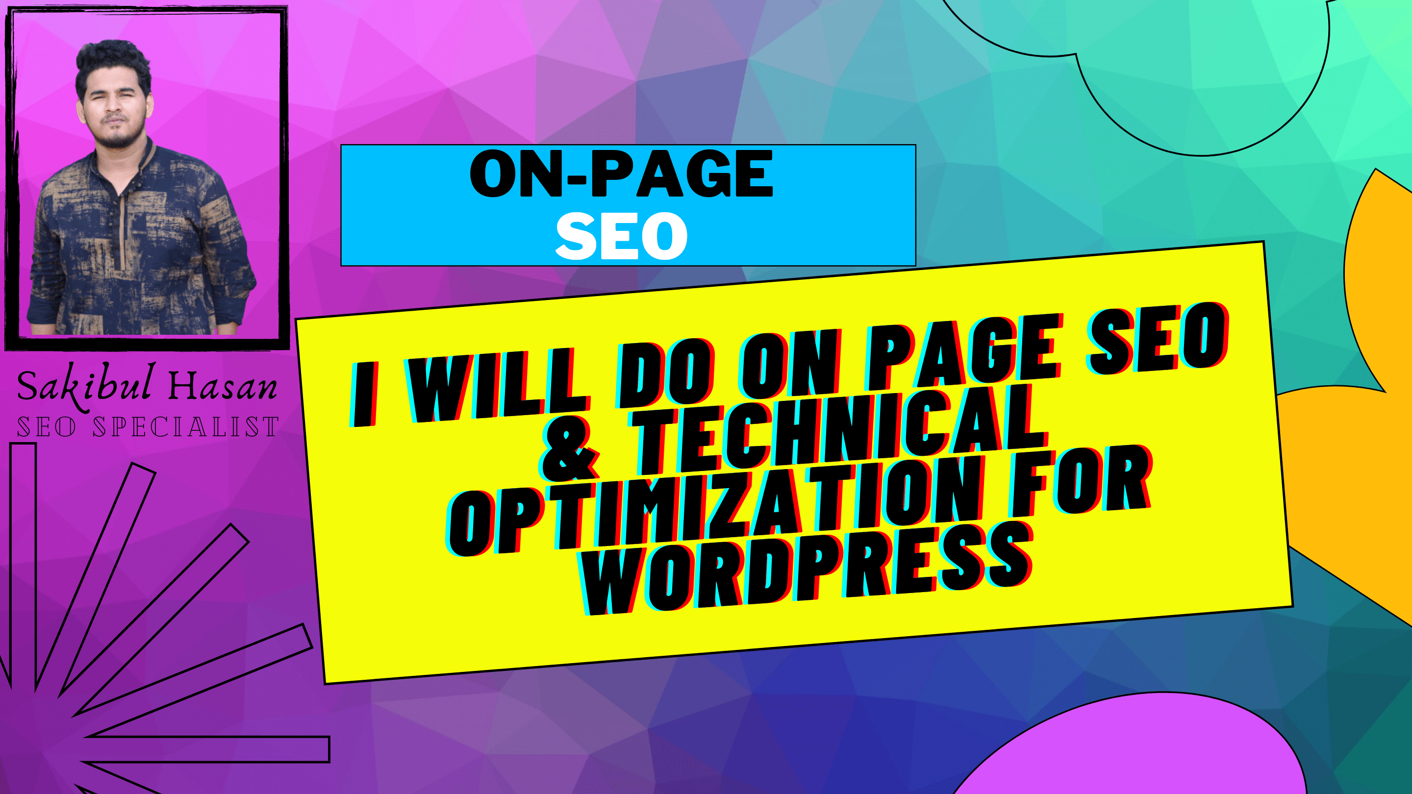 I will do on page SEO and technical onpage optimization of your wordpress website