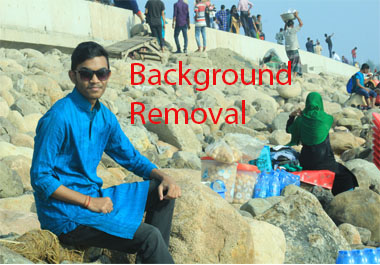 I will remove unwanted background image from your 5 photos