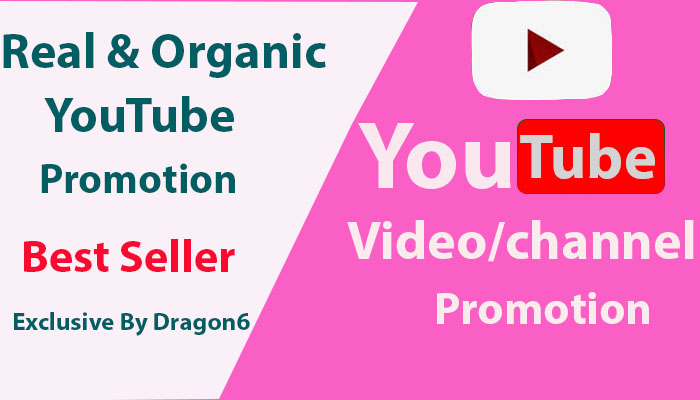 HQ Promotion Youtube Video & Chanel Marketing Via Social Media Network