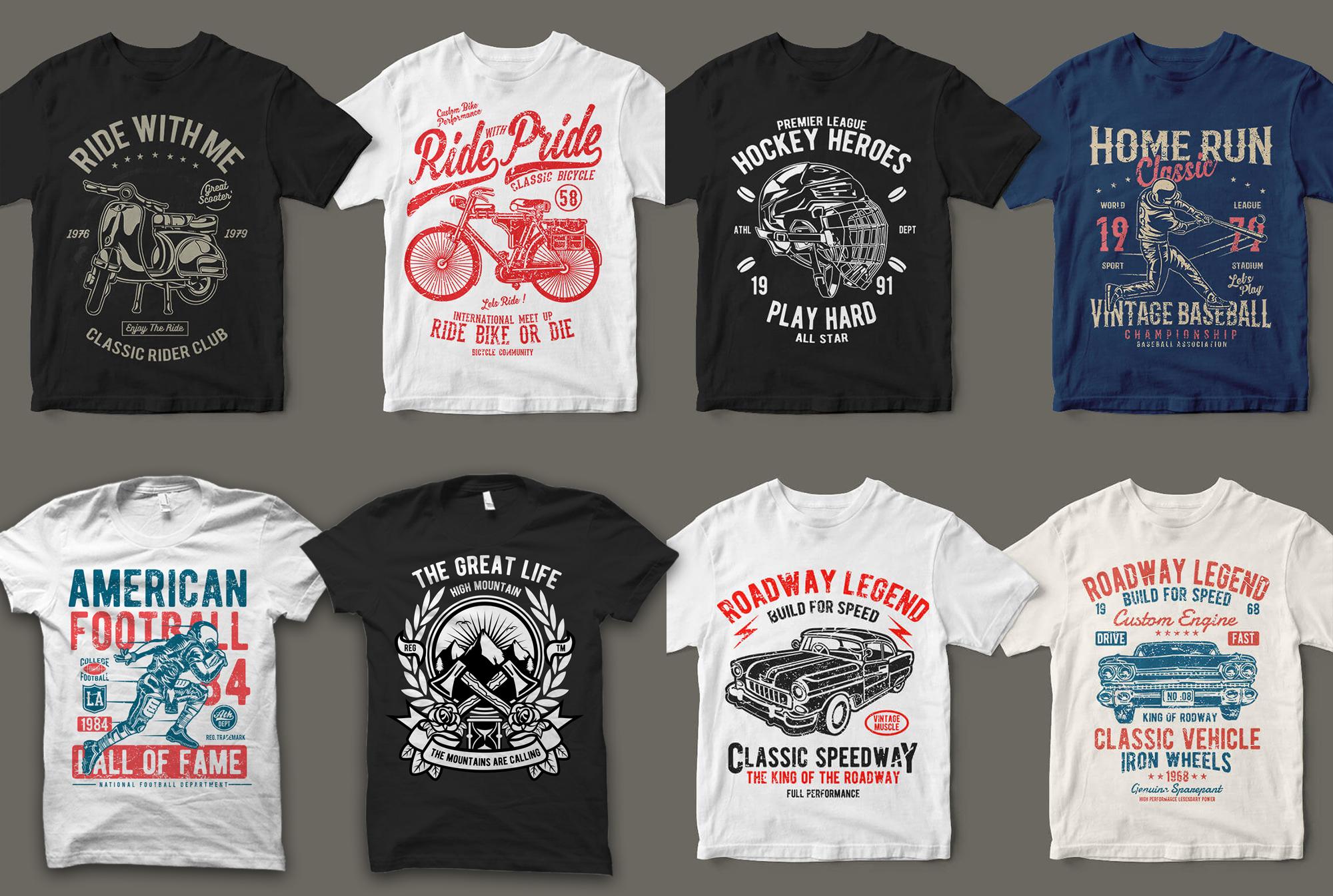 Send You 18999+Print Ready Tshirt Designs