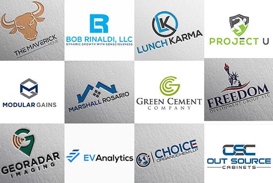 I will design creative minimalist logo design