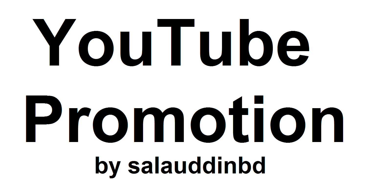 High Quality YouTube Video Promotion Marketing