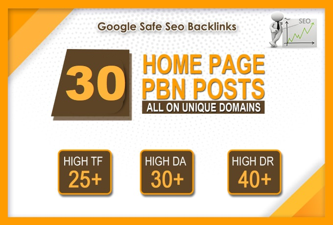 30 powerful pbn high da 20 plus dofollow backlinks on aged domain