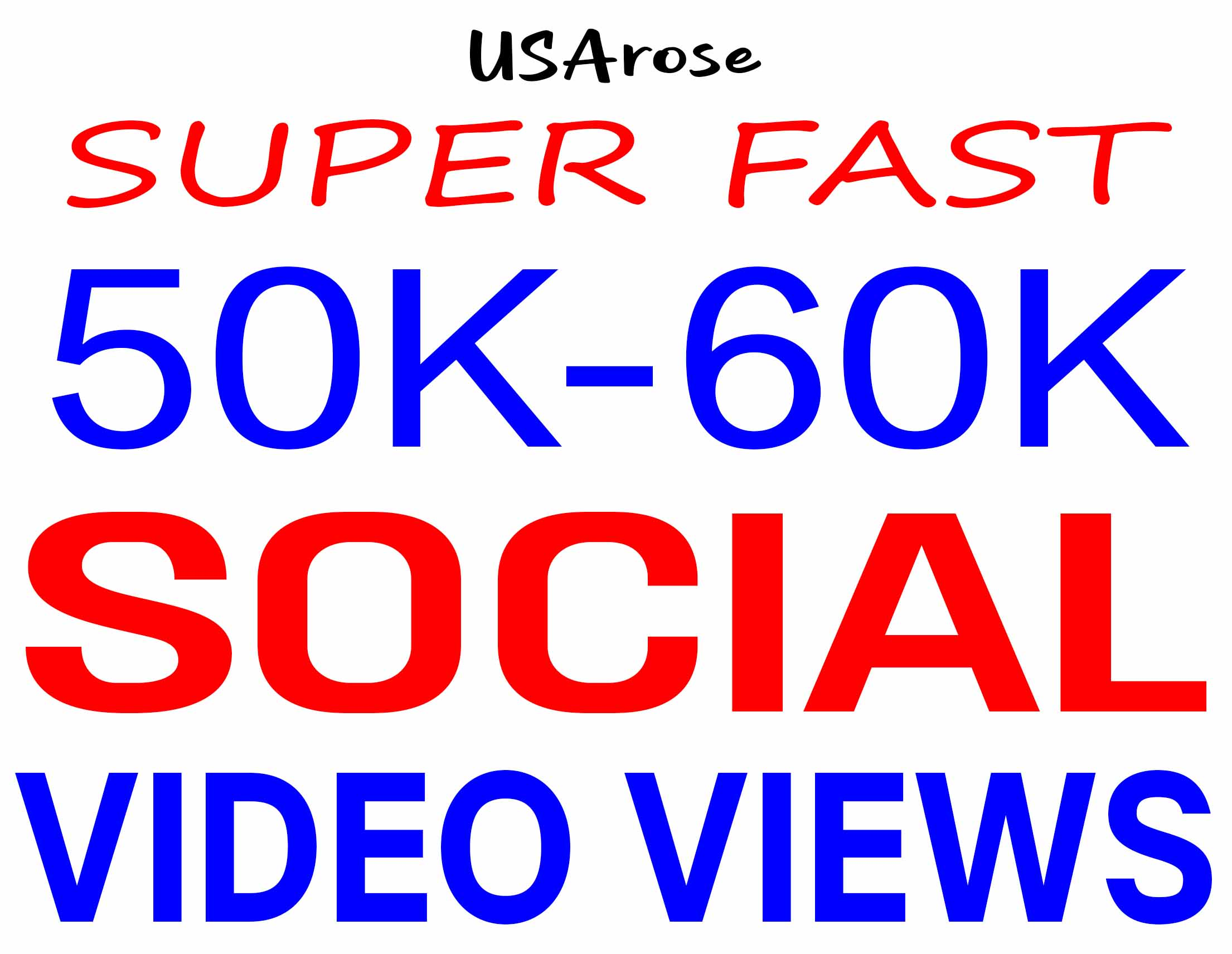 ADD 50,000+ SOCIAL VIDEO PROMOTION NON DROP AND HIGH QUALITY WITH SUPER FAST GUARANTEED