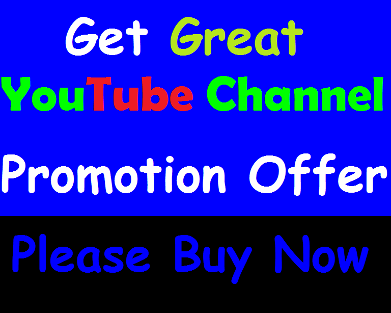 I will Provide You A Great Promotion IT's Manual Work