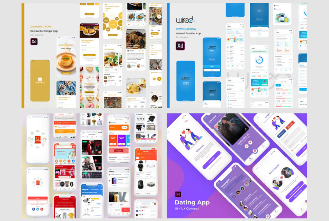 I will design user interface and user experience for your web and mobile app