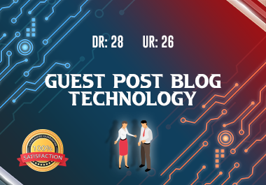 Technology Guest Post with a high quality content