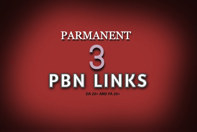 Create 3 Permanent High Da Pa Pbn Seo Backlinks