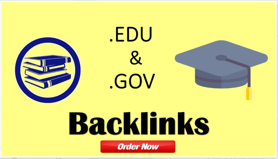 20 edu,  gov manually created backlinks from high da pa and most trusted sites links