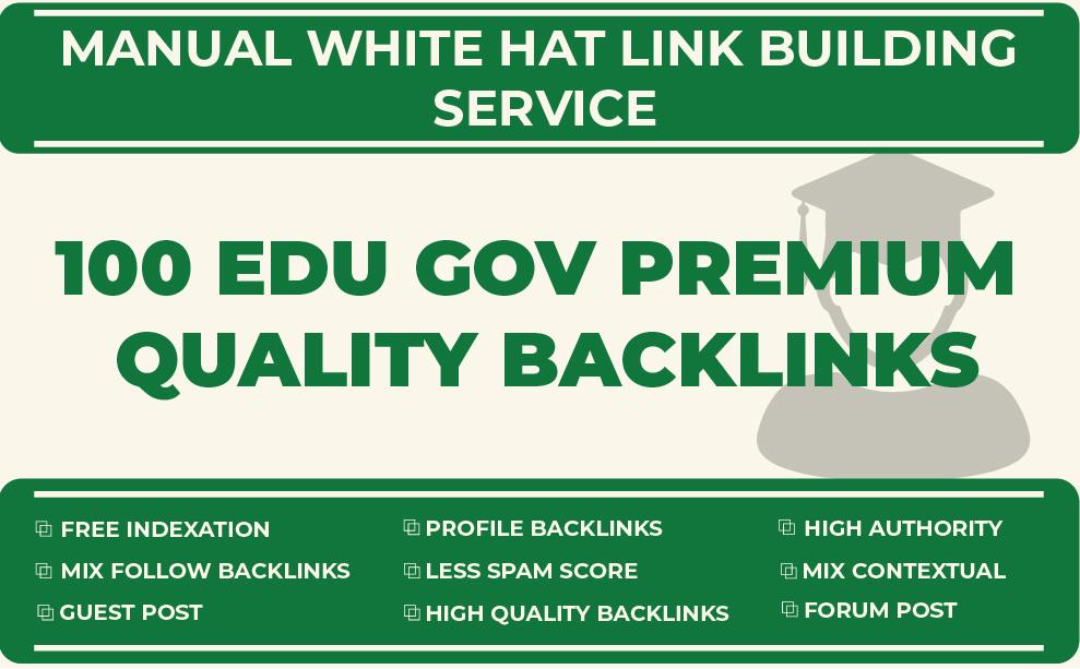 100 EDU GOV Backlinks Manually Created From USA & UK Universities Collage